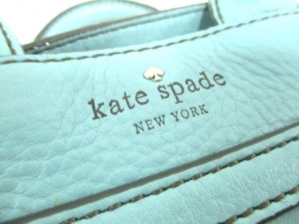 Kate spade(ケイトスペード) ハンドバッグ ライトブルー レザー