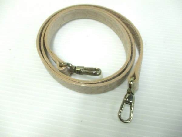 FURLA(フルラ) ハンドバッグ ベージュ 型押し加工 レザー