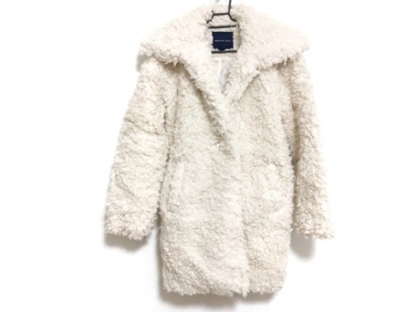 アメリカンイーグル コート サイズUS XS レディース美品  ライトピンク