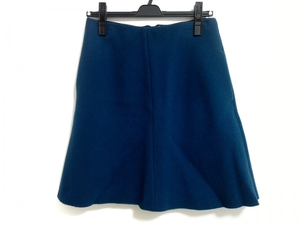 CARVEN(カルヴェン) スカート サイズ36 S レディース ブルー ジップアップ