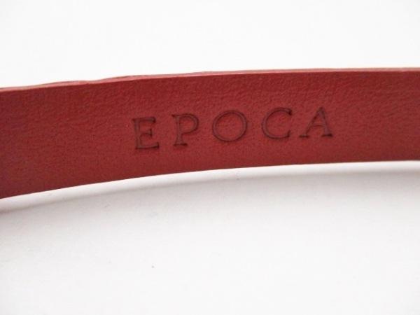 EPOCA(エポカ) ベルト レッド リボン エナメル(レザー)