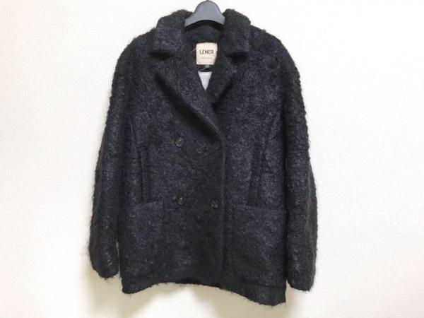 LENER(レネール) コート サイズ38 M レディース美品  黒