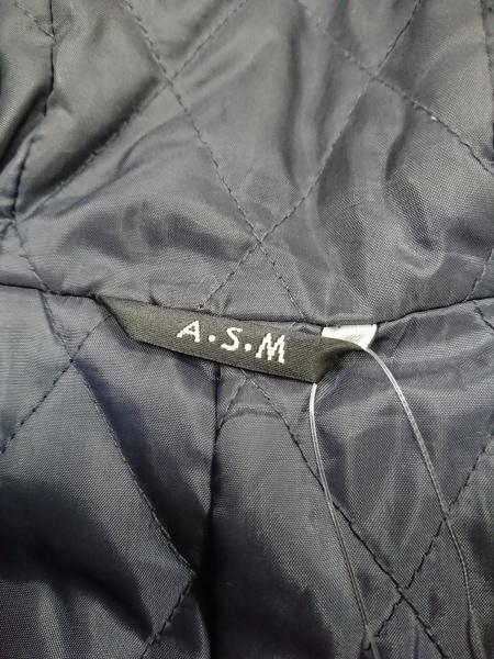 A.S.M(アトリエサブメン) コート メンズ 黒 冬物
