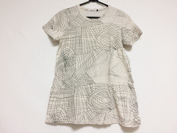 UNDER COVER(アンダーカバー) 半袖Tシャツ サイズM レディース アイボリー×黒