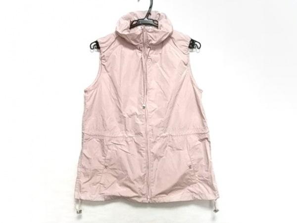 PICONE(ピッコーネ) ベスト レディース美品  ピンク ジップアップ
