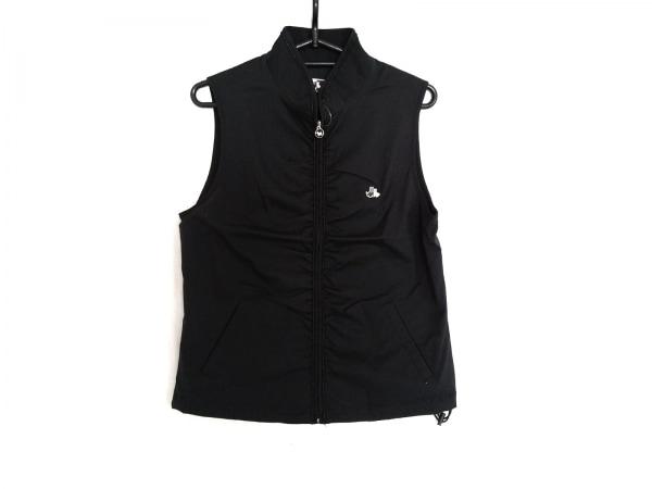 Black&White(ブラック&ホワイト) ブルゾン サイズ1 S レディース 黒×白 刺繍/ラメ