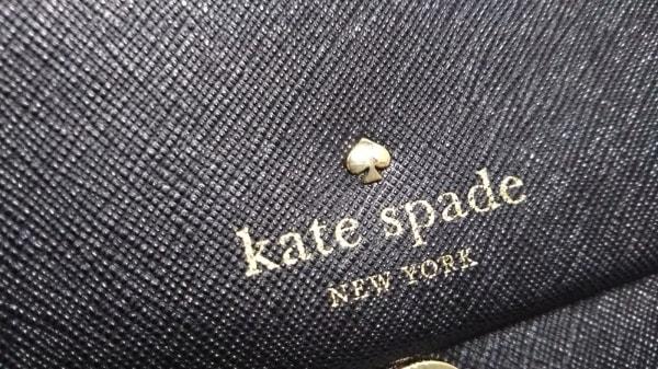 Kate spade(ケイトスペード) ショルダーバッグ美品  PWRU4341 黒 レザー