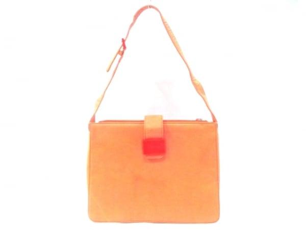 LANVIN(ランバン) ショルダーバッグ オレンジ ナイロン