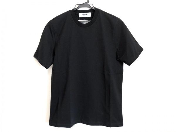 MSGM(エムエスジィエム) 半袖Tシャツ サイズXS メンズ新品同様  黒