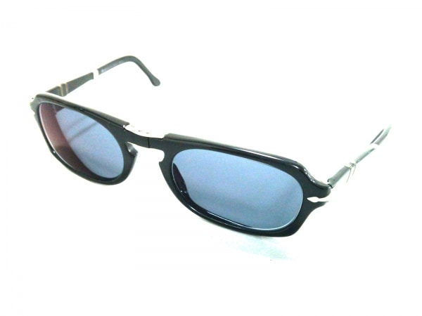 ペルソール サングラス 2621-S ネイビー×黒×シルバー プラスチック×金属素材