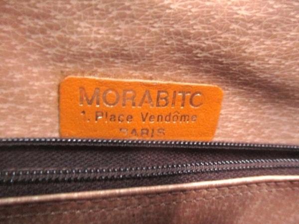 MORABITO(モラビト) クラッチバッグ ライトブラウン×ダークブラウン
