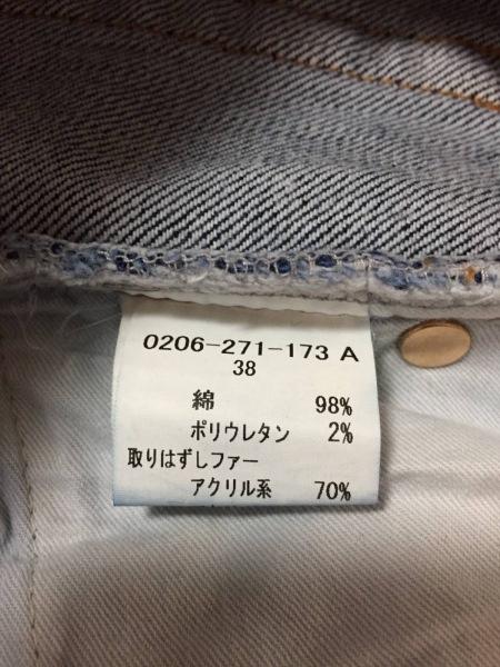 ダブルスタンダードクロージング ジーンズ サイズ38 M レディース美品  ブルー