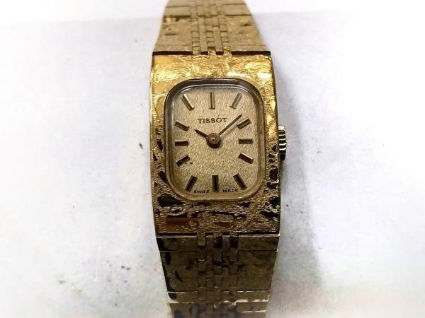 TISSOT(ティソ) 腕時計 - レディース ゴールド