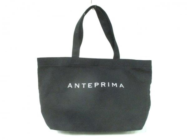 ANTEPRIMA MISTO(アンテプリマミスト) トートバッグ - 黒 キャンバス