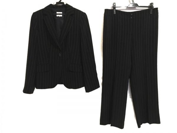 アルマーニコレッツォーニ レディースパンツスーツ サイズ46 L レディース 黒×白