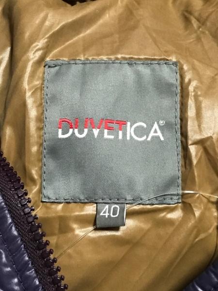 DUVETICA(デュベティカ) ダウンコート サイズ40 M レディース KAPPA パープル 冬物