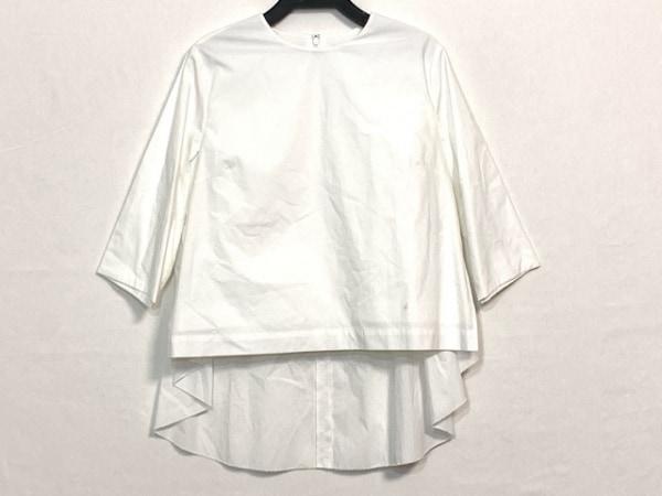 GREED(グリード) 七分袖カットソー サイズSMALL S レディース美品  白