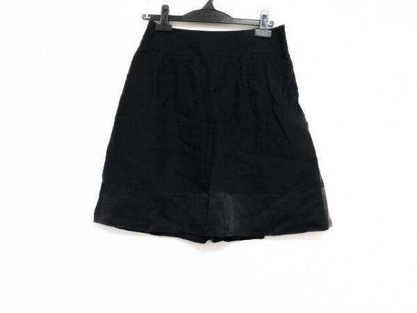 Laula(ラウラ) スカート サイズ1 S レディース美品  黒 リネン/シルク