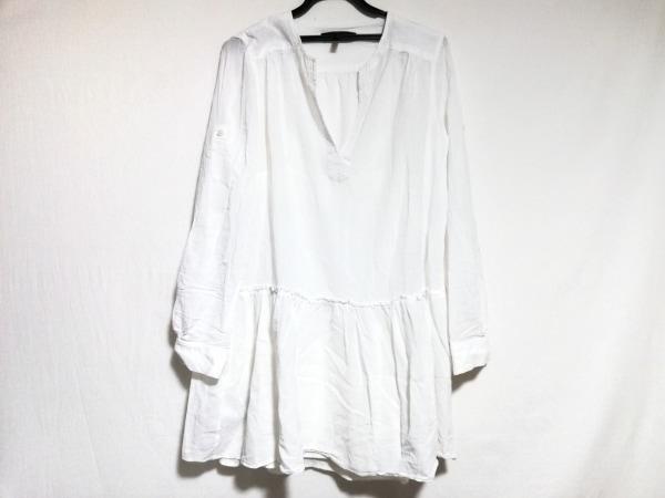 ビーシービージーマックスアズリア ワンピース サイズ6 M レディース美品  白
