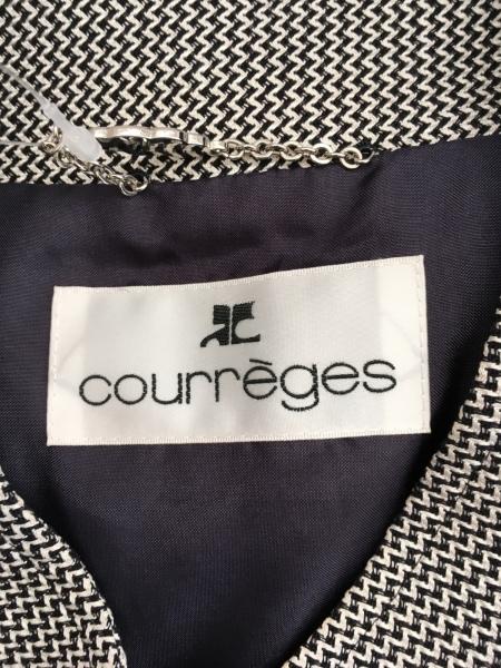 COURREGES(クレージュ) ワンピーススーツ レディース 黒×白