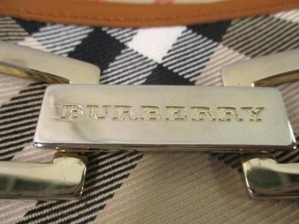 Burberry(バーバリー) ショルダーバッグ ベージュ×ブラウン×レッド チェック柄