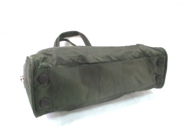 PRADA(プラダ) ハンドバッグ - ダークブラウン ナイロン