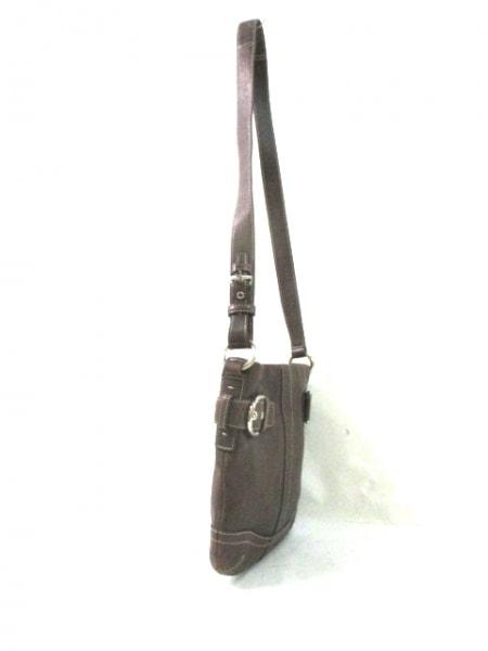 COACH(コーチ) ショルダーバッグ - 3594 ダークブラウン レザー