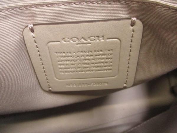 COACH(コーチ) ショルダーバッグ - F28079 ベージュ×グレージュ×マルチ レザー