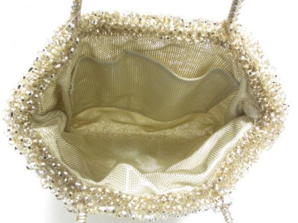 ANTEPRIMA(アンテプリマ) トートバッグ美品  ワイヤーバッグ シルバー×ゴールド