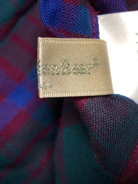GoldenBear(ゴールデンベア) チュニック レディース美品  グリーン×ボルドー×ブルー