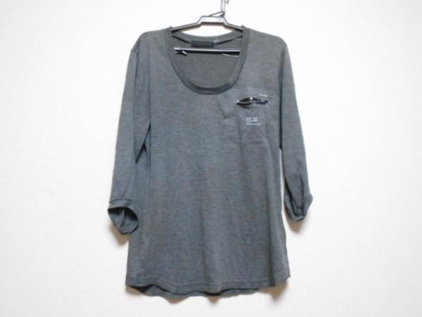 アンダーカバイズム 七分袖Tシャツ サイズ1 S レディース ダークグレー