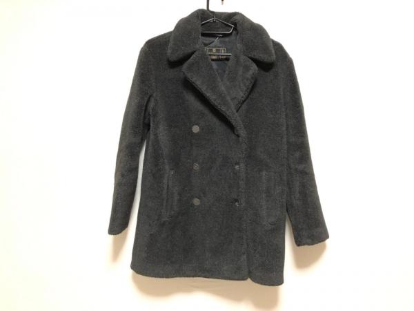 FENDI jeans(フェンディ) コート サイズ40 M レディース ダークグレー 冬物
