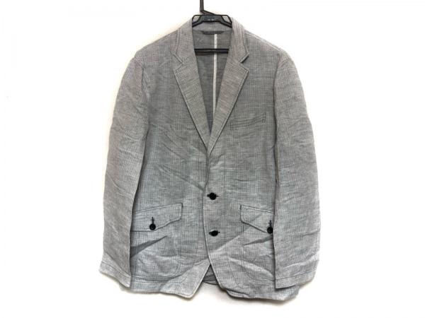 JOSEPHABBOUD(ジョセフアブード) ジャケット サイズL メンズ美品  白×黒