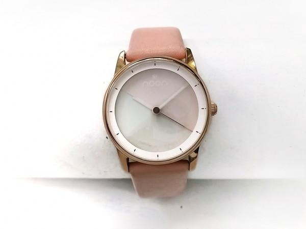 noon copenhagen(ヌーンコペンハーゲン) 腕時計 45-021-481 レディース 革ベルト