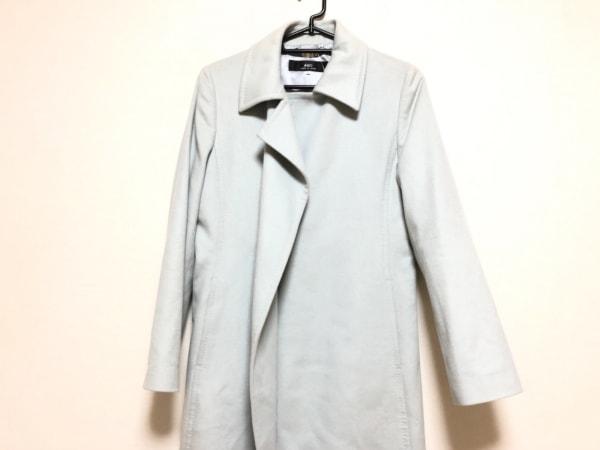 INED(イネド) コート サイズ11 M レディース ライトブルー 冬物/カシミヤ
