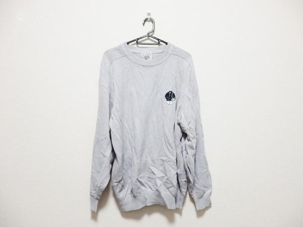 SINACOVA(シナコバ) 長袖セーター サイズL メンズ グレー