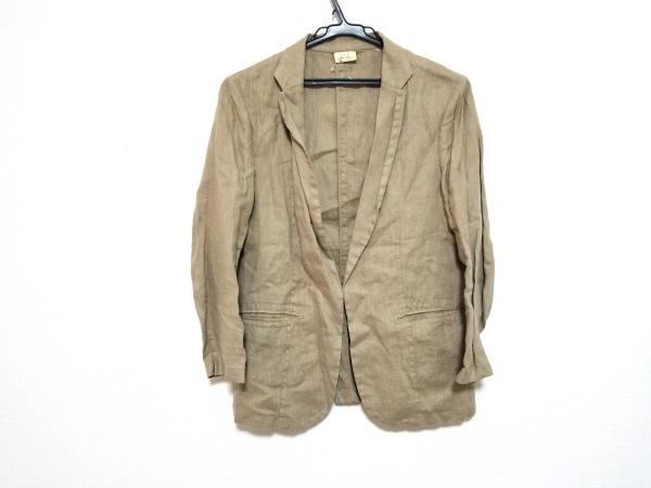 スピック&スパン ノーブル ジャケット サイズ38 M レディース美品  ベージュ