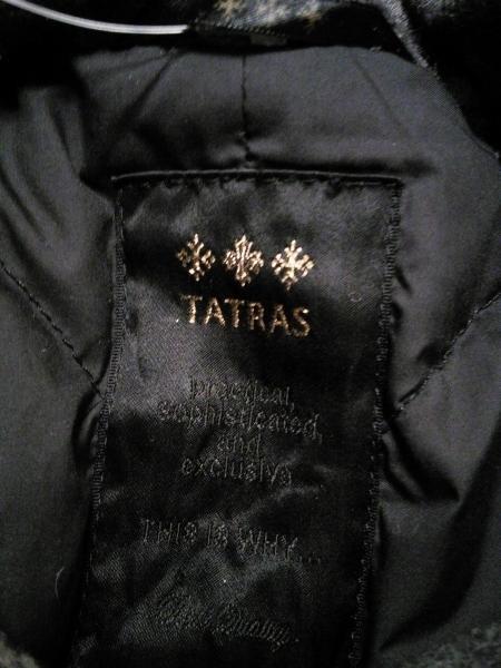 TATRAS(タトラス) ダウンジャケット レディース ライトグレー×ダークグレー