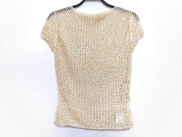 ヴィヴィアンタム 半袖カットソー サイズ0 XS レディース美品  白×ゴールド