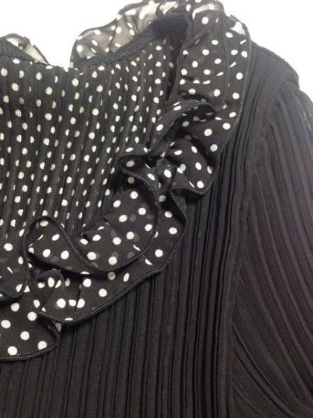 ユキコハナイ スカートセットアップ サイズ10 L レディース美品  黒×アイボリー