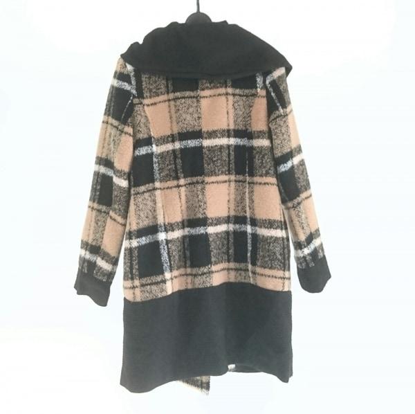 Bou Jeloud(ブージュルード) コート サイズ38 M レディース美品  ベージュ×黒×白