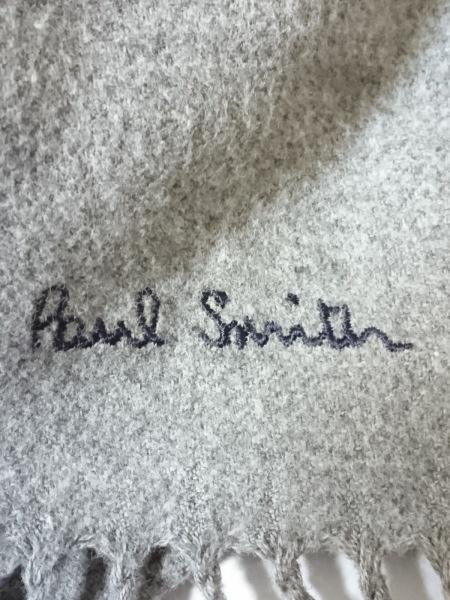 PaulSmith(ポールスミス) マフラー  美品  グレー コットン