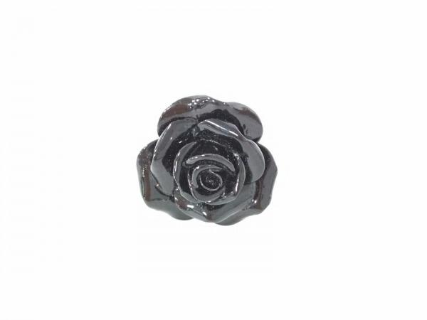 nach(ナッシュ) リング美品  陶器×金属素材 黒×ゴールド