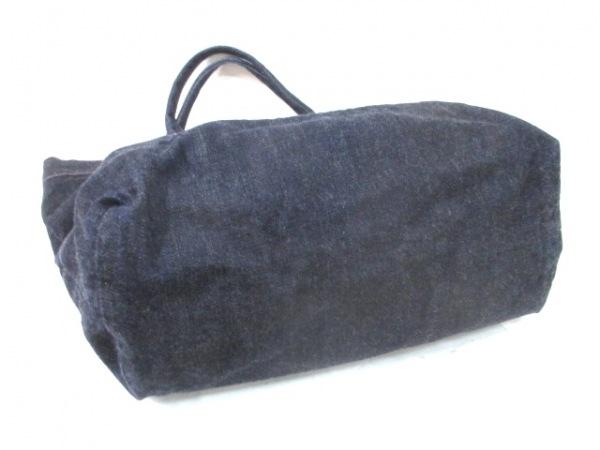 JOCOMOMOLA(ホコモモラ) トートバッグ ダークネイビー デニム