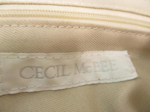CECILMcBEE(セシルマクビー) リュックサック ベージュ 合皮