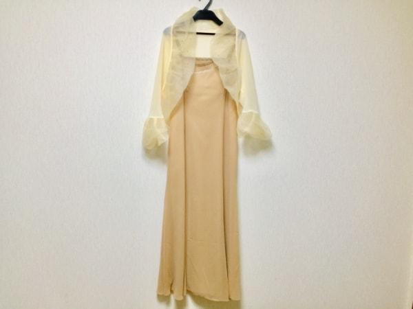 Ungaro(ウンガロ) ドレス サイズ38 M レディース美品  ベージュ