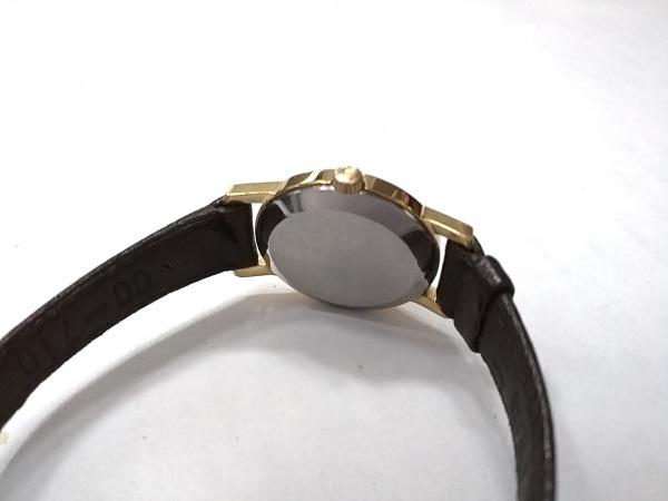 OMEGA(オメガ) 腕時計 - レディース 革ベルト ゴールド