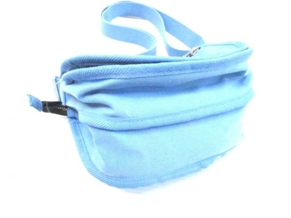 marimekko(マリメッコ) ショルダーバッグ ブルー キャンバス