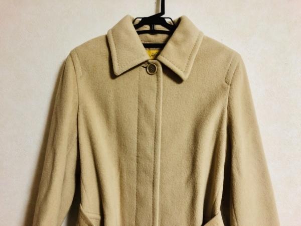zelal(ゼラール) コート サイズ9 M レディース美品  ベージュ 冬物