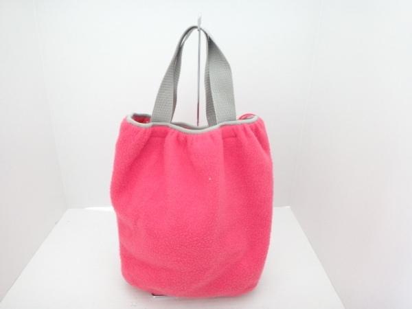 TSUMORI CHISATO(ツモリチサト) トートバッグ ピンク×グレー ポリエステル